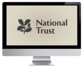 National Trust on imac computer