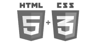 HTML and Css logo