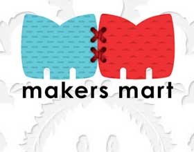 Makers Mart identity masonry