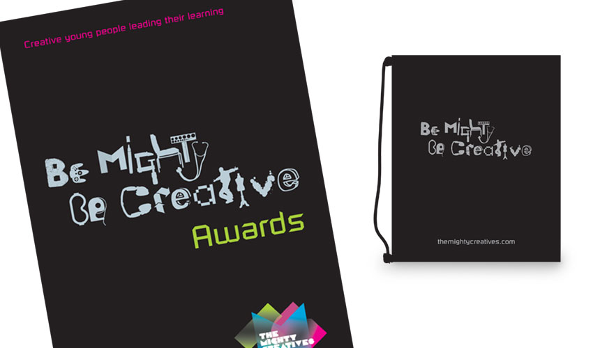 Be Mighty brand identity 3