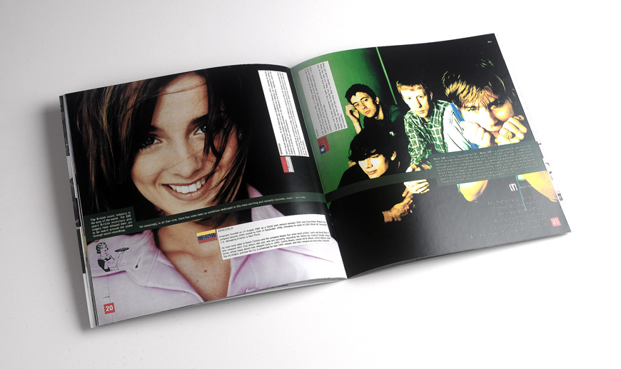 EMI brochure design spread 2