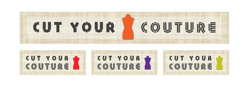 Cut Your Couture logo design